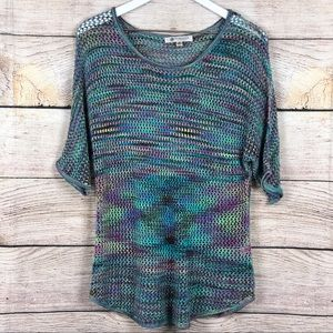 Versona | Crochet Open Knit Top